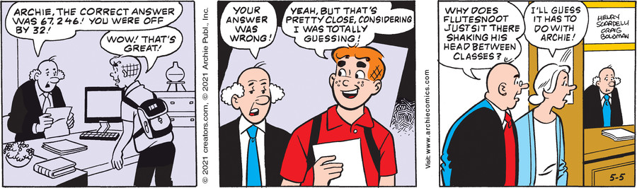 Archie for May 05, 2021
