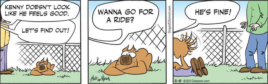 Dogs of C-Kennel for May 06, 2021