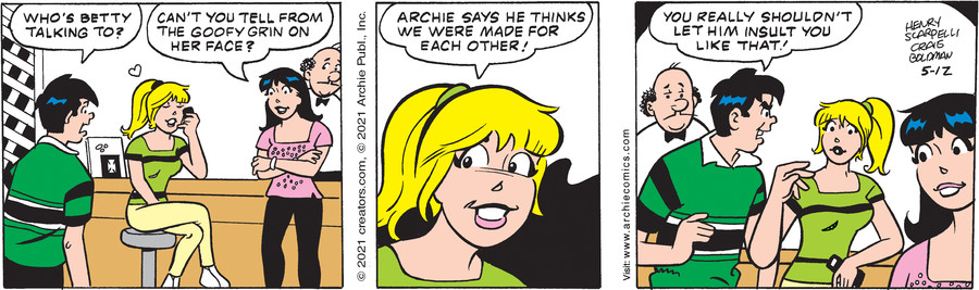 Archie for May 12, 2021